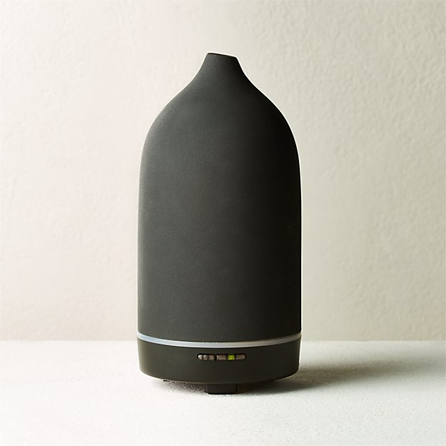 Vitruvi Black Stone Porcelain Essential Oil Diffuser - Image 1 of 5