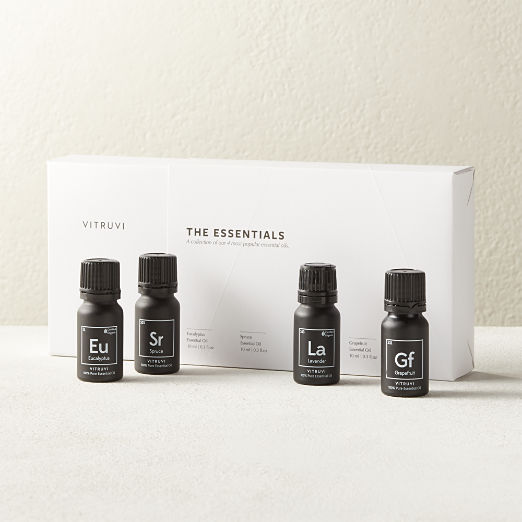 Vitruvi The Essentials Essential Oil Set