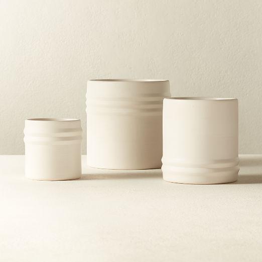 Viv White Planter Set of 3