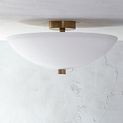 Modern flush mount lighting cb2 vivid flush mount light aloadofball Gallery