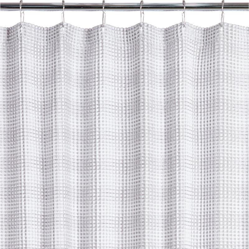 Cotton Shower Curtains | CB2