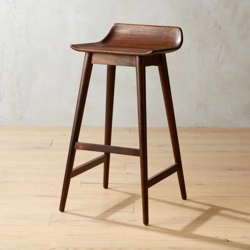Low Back Bar Stools Cb2