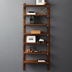 modern shelving and wall mounted storage cb2 rh cb2 com walnut wall shelves floating walnut wall shelves