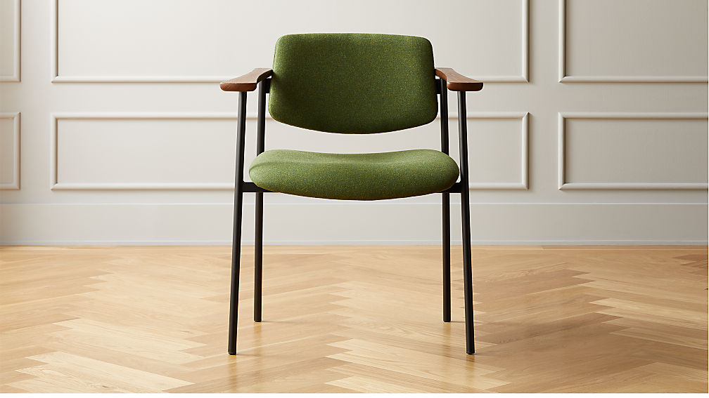 Warren Green Chair - Image 1 of 9