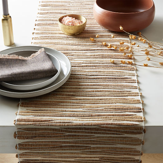 Water Hyacinth Table Runner