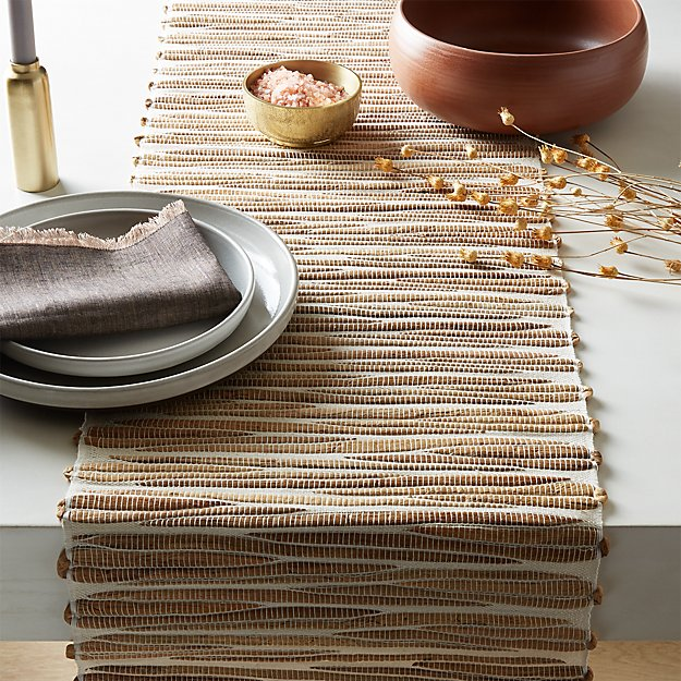 Water Hyacinth Table Runner - Image 1 of 4
