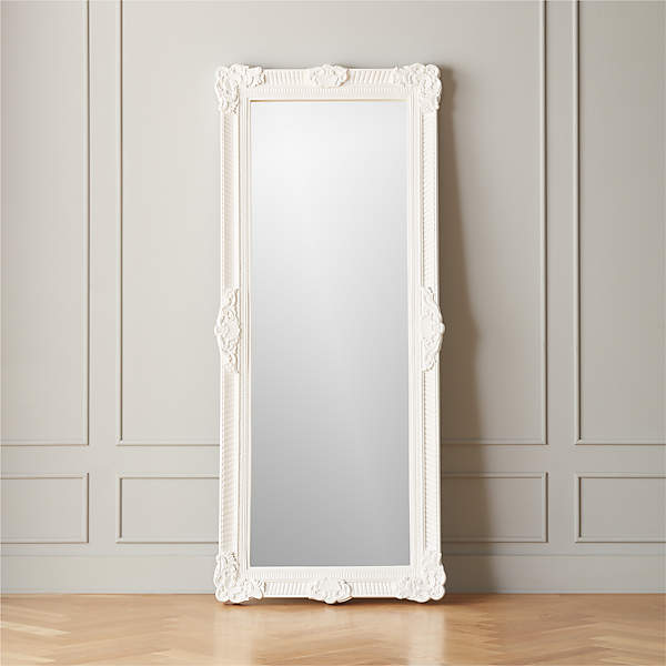 Wes Carved Floor Mirror Reviews, Full Length Floor Mirror Canada