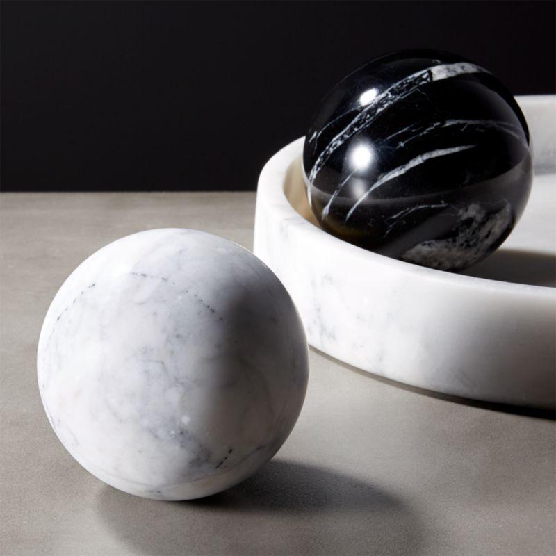 Decorative Soap Balls: Marble Spheres