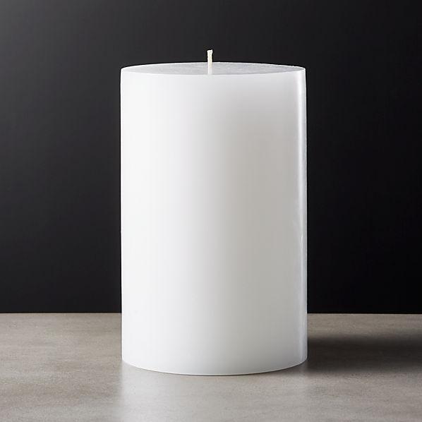 White Pillar Candle 4x6 Reviews Cb2 Canada