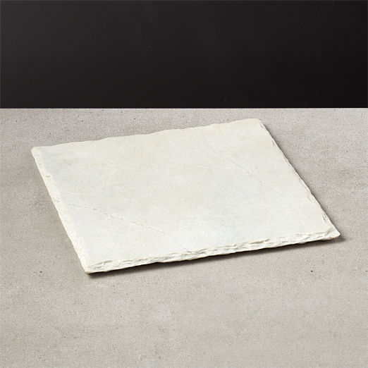 White Square Slate Cheese Board