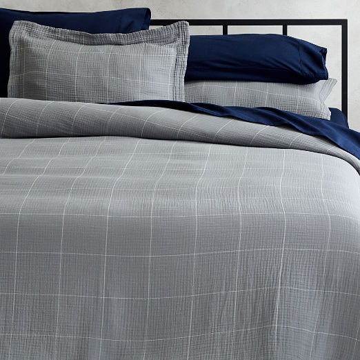 Wilfred Grey Bedding