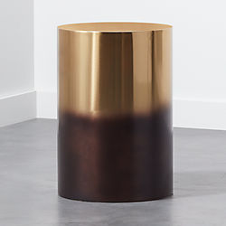 Cb Accent Tables Bongo Drum Side Tables CBsilo Metal Drum Side - Cb2 accent table
