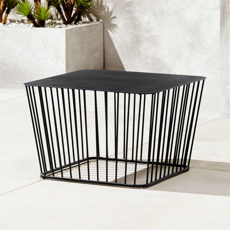 Black Wire Coffee Table Reviews Cb2