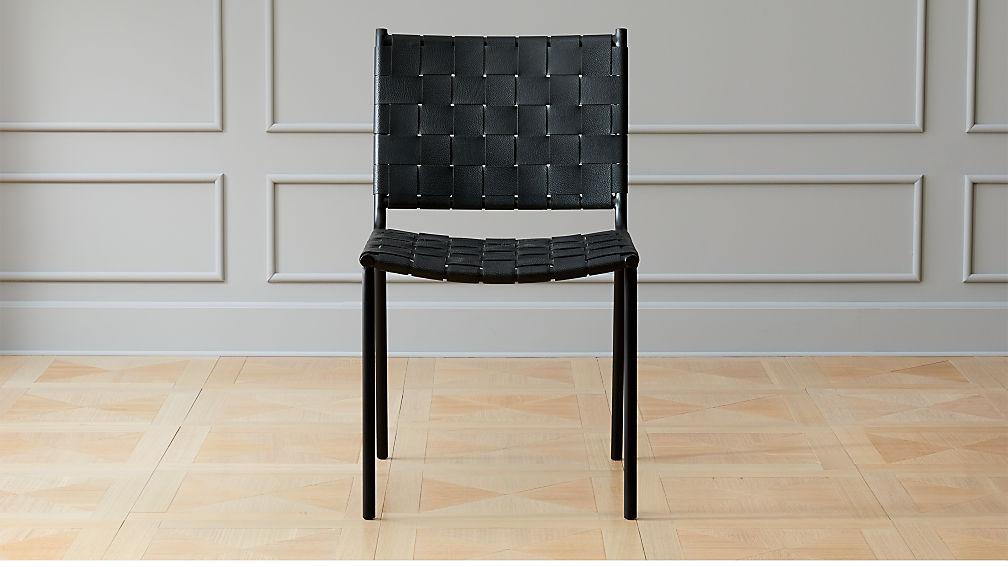 Black Barrel Back Dining Chair