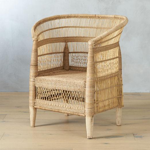 Rattan Chairs Cb2