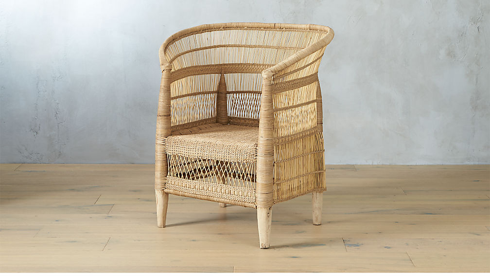 Woven Malawi Chair - Image 1 of 10