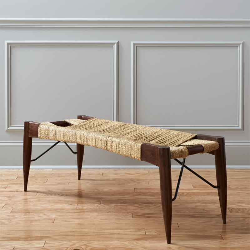 Modern Bedroom Benches | CB2
