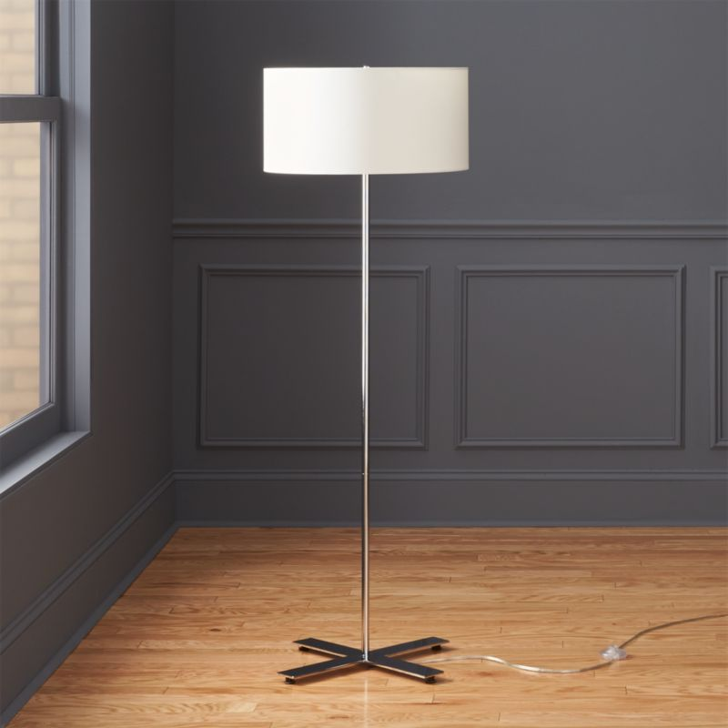 White floor lamps cb2 aloadofball Image collections