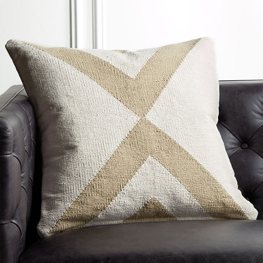 "23"" Xbase Natural Tonal Pillow"
