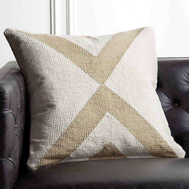 "23"" Xbase Natural Tonal Pillow - Image 1 of 6"
