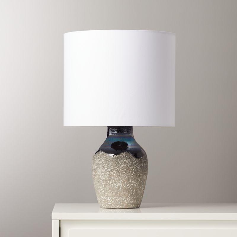 Zena Black Table Lamp Reviews Cb2