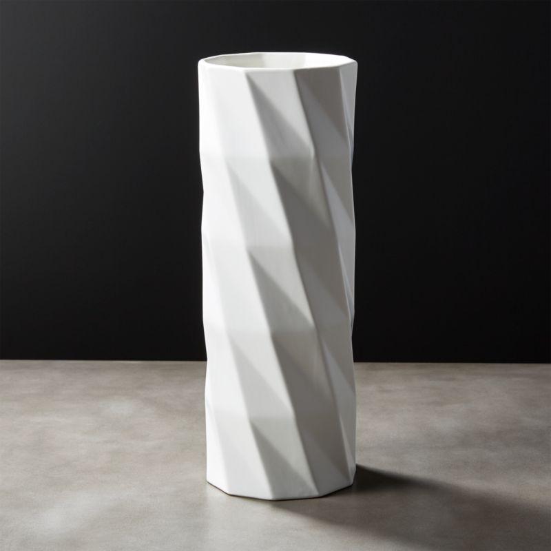White Vases Cb2