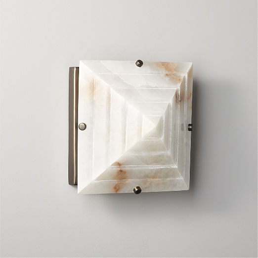 Zoe Alabaster Wall Sconce