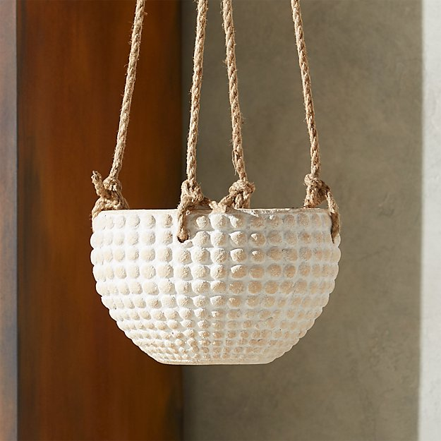 Zola Small Hanging Planter - Image 1 of 12