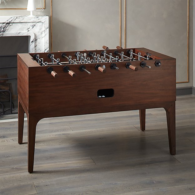Zone Wood Foosball Table - Image 1 of 6