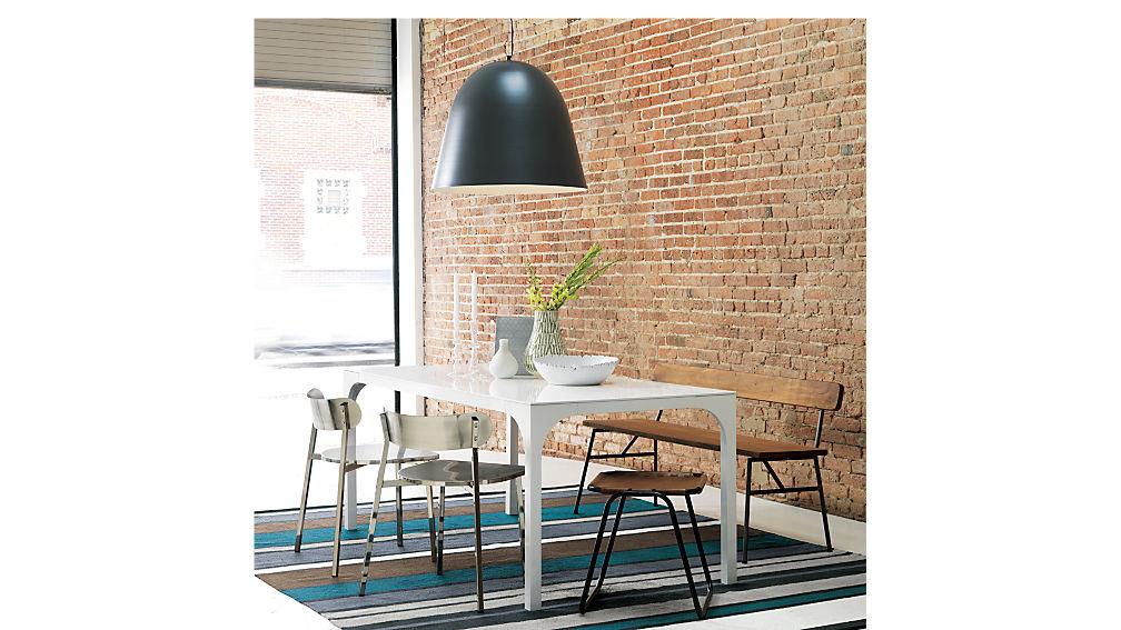 aqua virgo white gloss dining table + Reviews  a8b31e33755c
