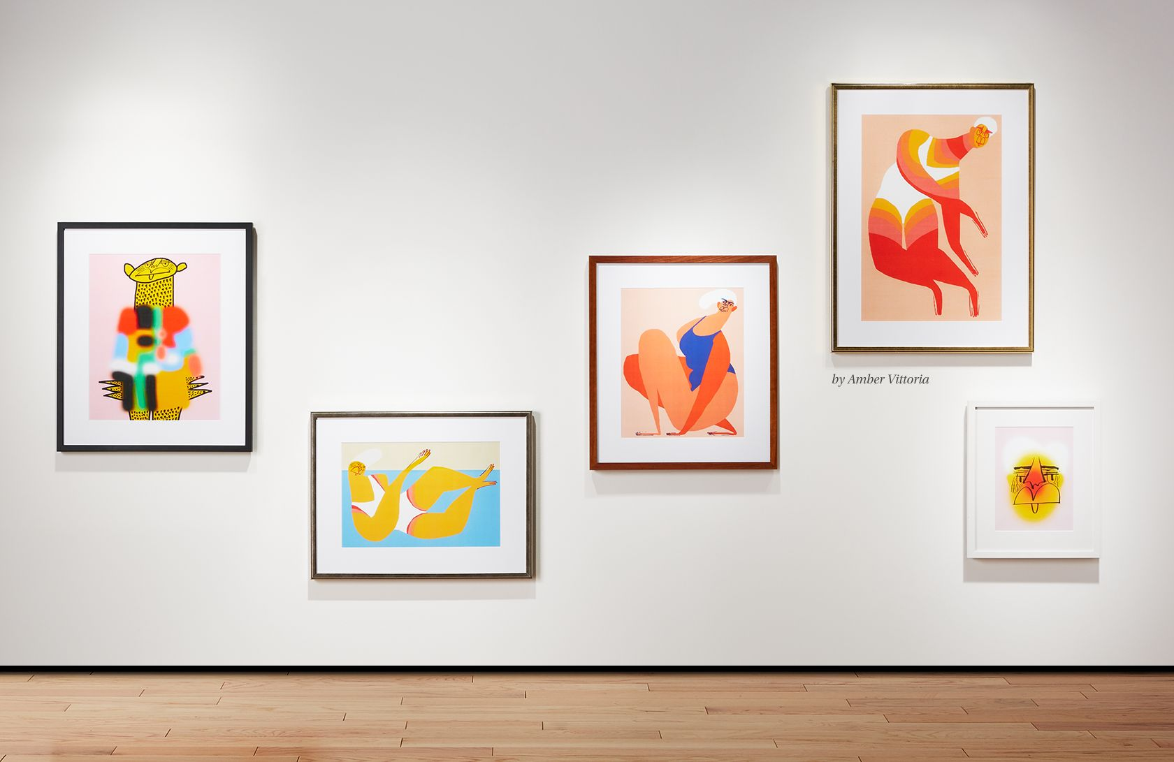 modern art prints + limited edition paintings   CB2