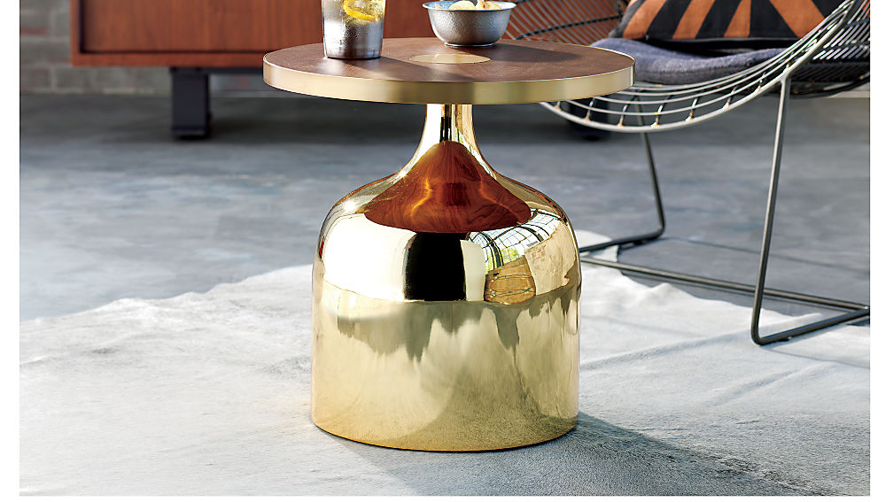 shropshire design dorian gold products table side