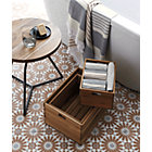 View product image dot acacia side table-stool - image 2 of 12