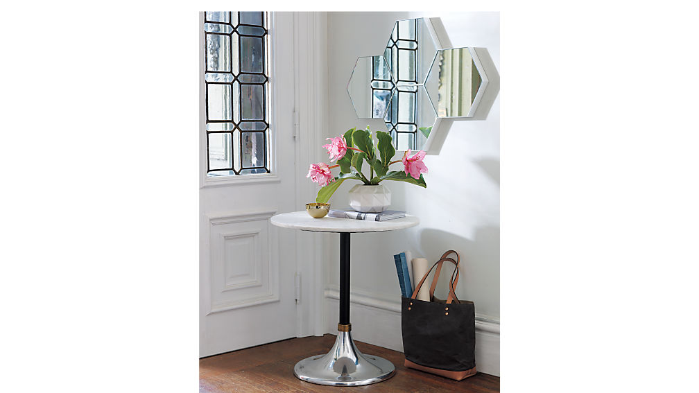 Hackney Marble Cocktail Table + Reviews | CB2