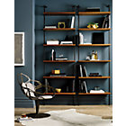 "View product image Helix 96"" Acacia Bookcase - image 3 of 10"