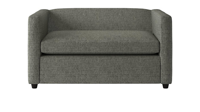 Tap To Zoom Movie Salt And Pepper Twin Sleeper Sofa Shown In Lexi