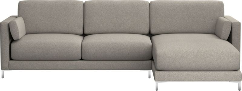 TAP TO ZOOM District 2 Piece Sectional Sofa (left Arm Sofa, Right Arm Chaise)  Shown