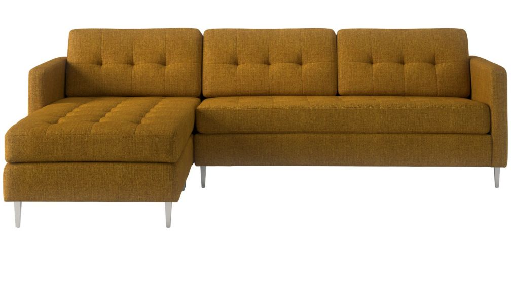 ditto II sunflower sectional sofa + Reviews | CB2