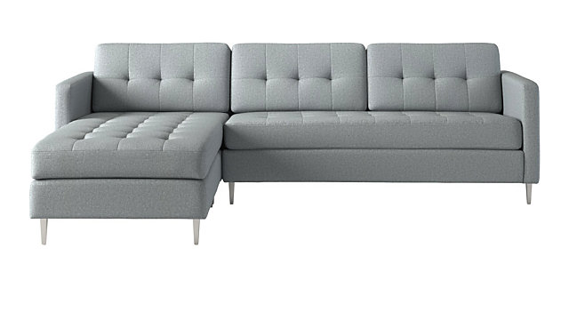 Tap To Zoom Ditto Ii Cloud Sectional Sofa Shown In Ellyn