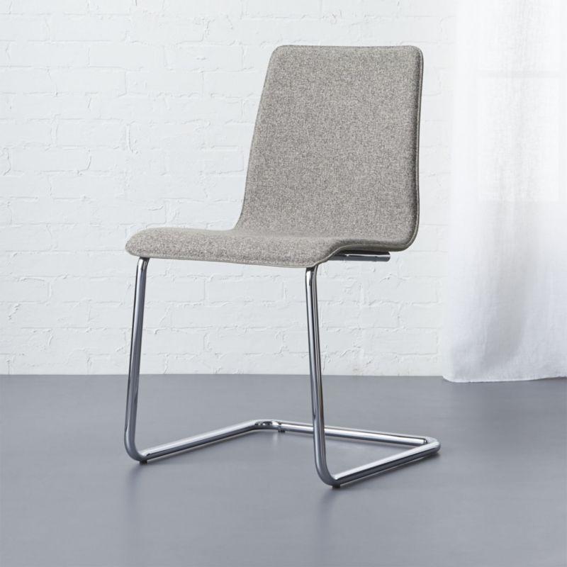 Pony Grey Tweed Chair Reviews CB2