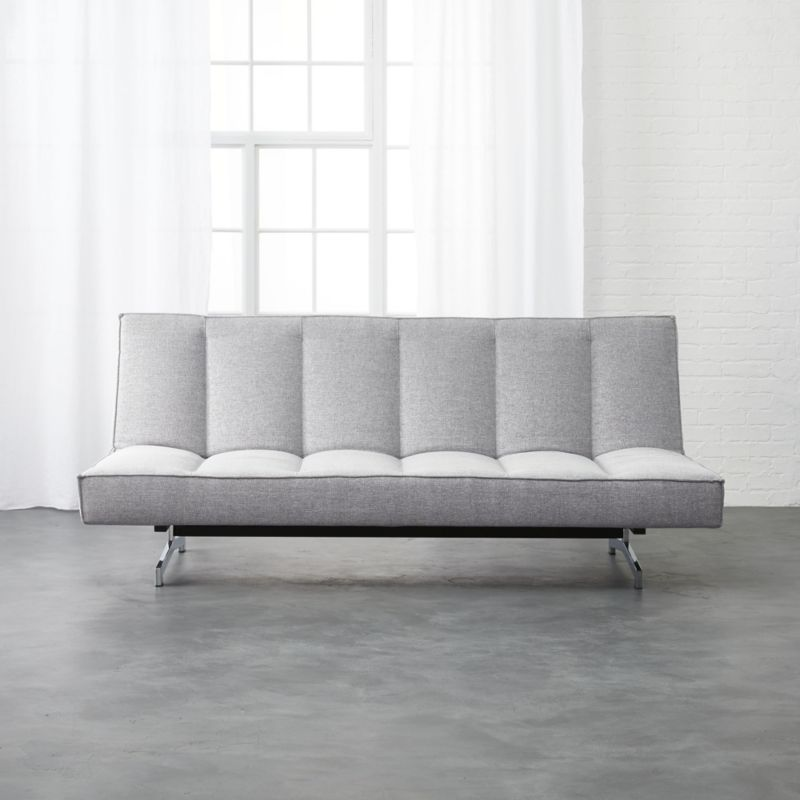 Amazing Flex Microgrid Grey Sleeper Sofa Gmtry Best Dining Table And Chair Ideas Images Gmtryco