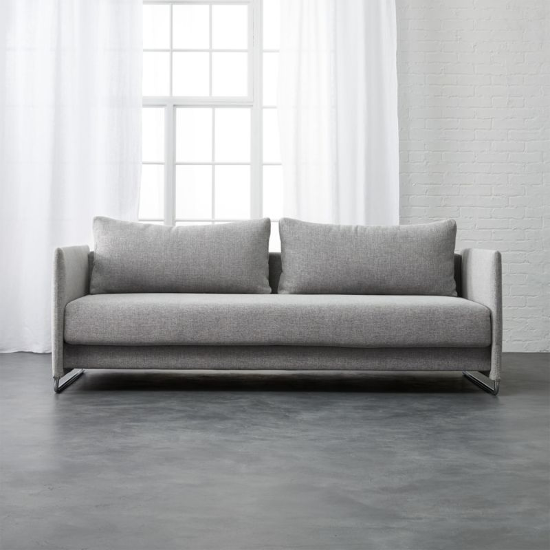 Tandom Sleeper Sofa Reviews Cb2