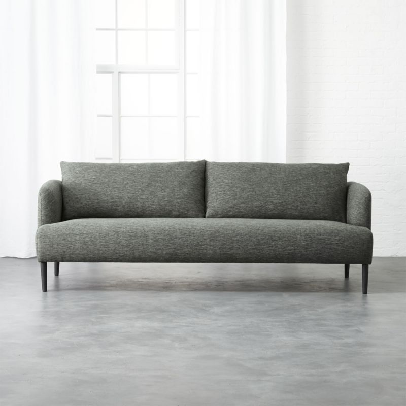 Ronan Grey Sofa + Reviews | CB2
