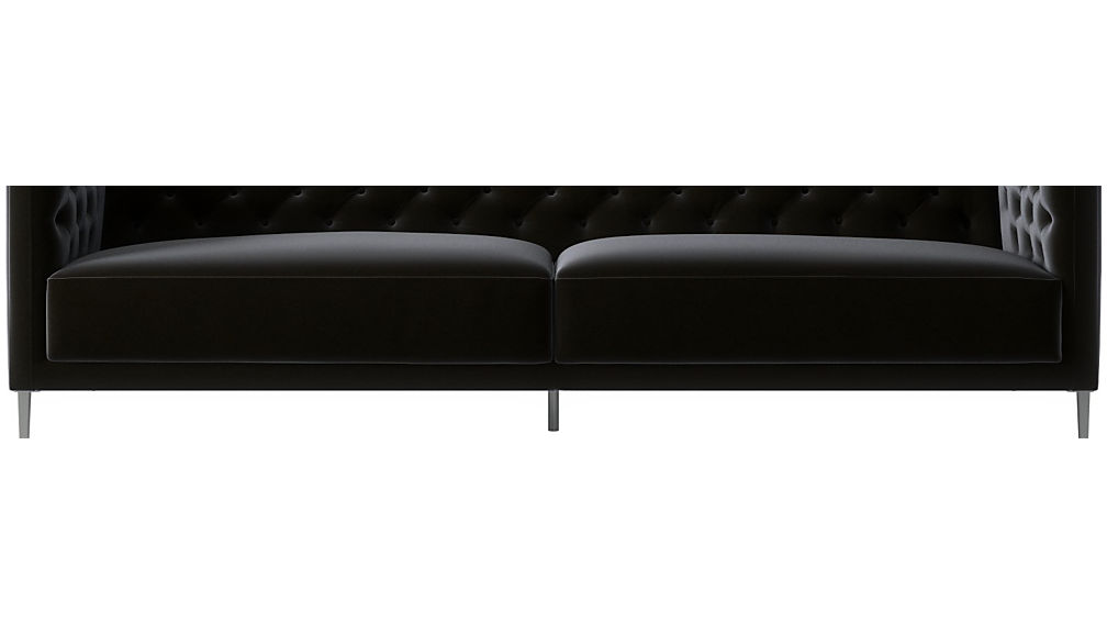 Delicieux Savile Charcoal Tufted Sofa + Reviews | CB2