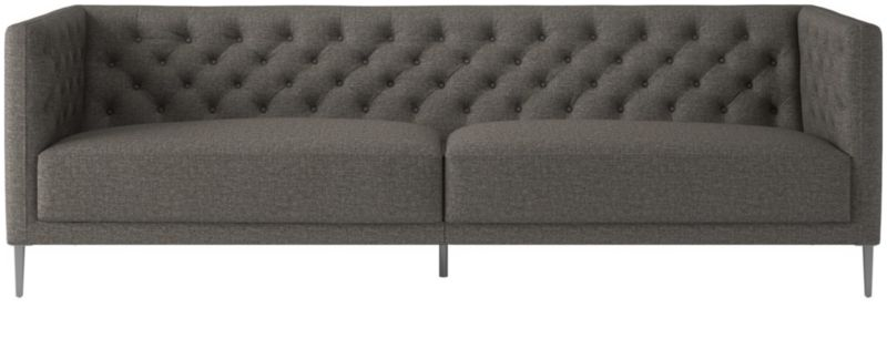 Item_338_146_303_0 Grey Tufted Sofa L77