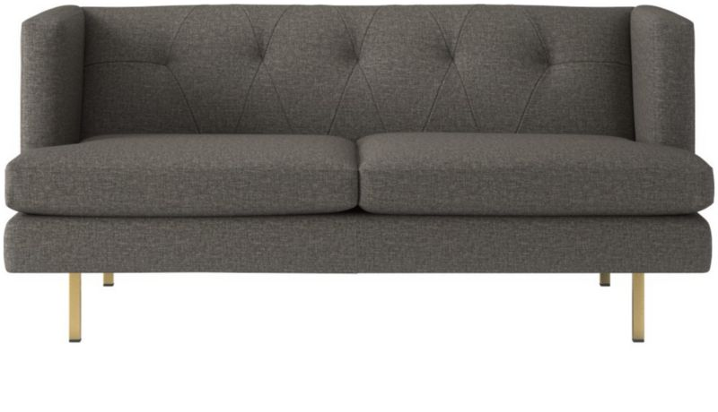 avec grey apartment sofa with brass legs reviews cb2 rh cb2 com cb2 avec apartment sofa cb2 sofa with chaise