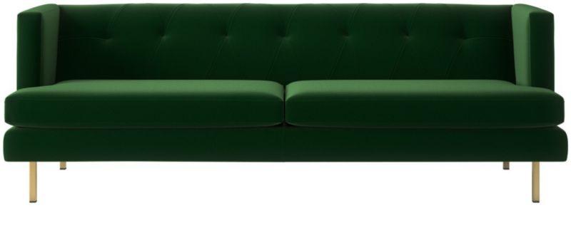 avec grey mid century modern sofa reviews cb2 rh cb2 com cb2 avec apartment sofa