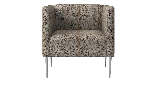 Astonishing Marais Cheetah Print Velvet Armchair With Chrome Legs Cb2 Spiritservingveterans Wood Chair Design Ideas Spiritservingveteransorg