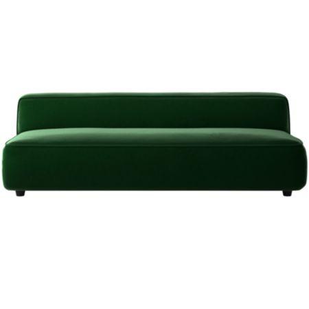Lenyx Armless Sofa Luca Emerald Cb2
