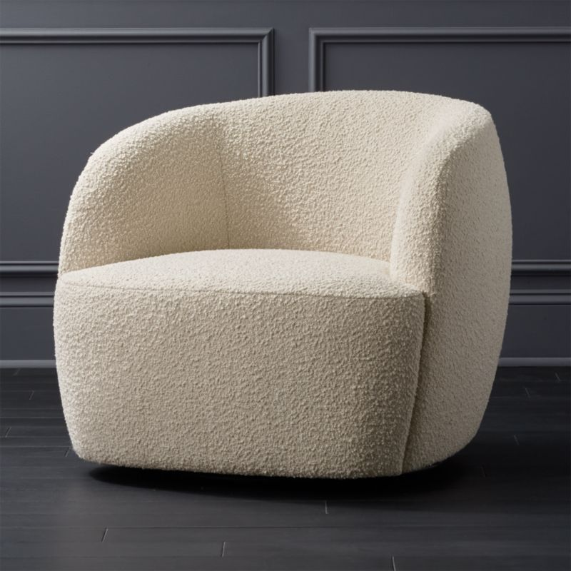Cool Gwyneth Boucle Chair Gmtry Best Dining Table And Chair Ideas Images Gmtryco